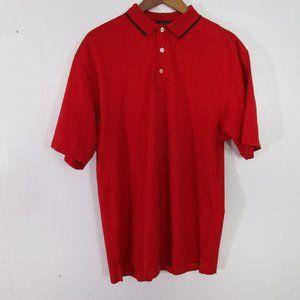 Tommy Hilfiger Golf Polo Size Medium Red